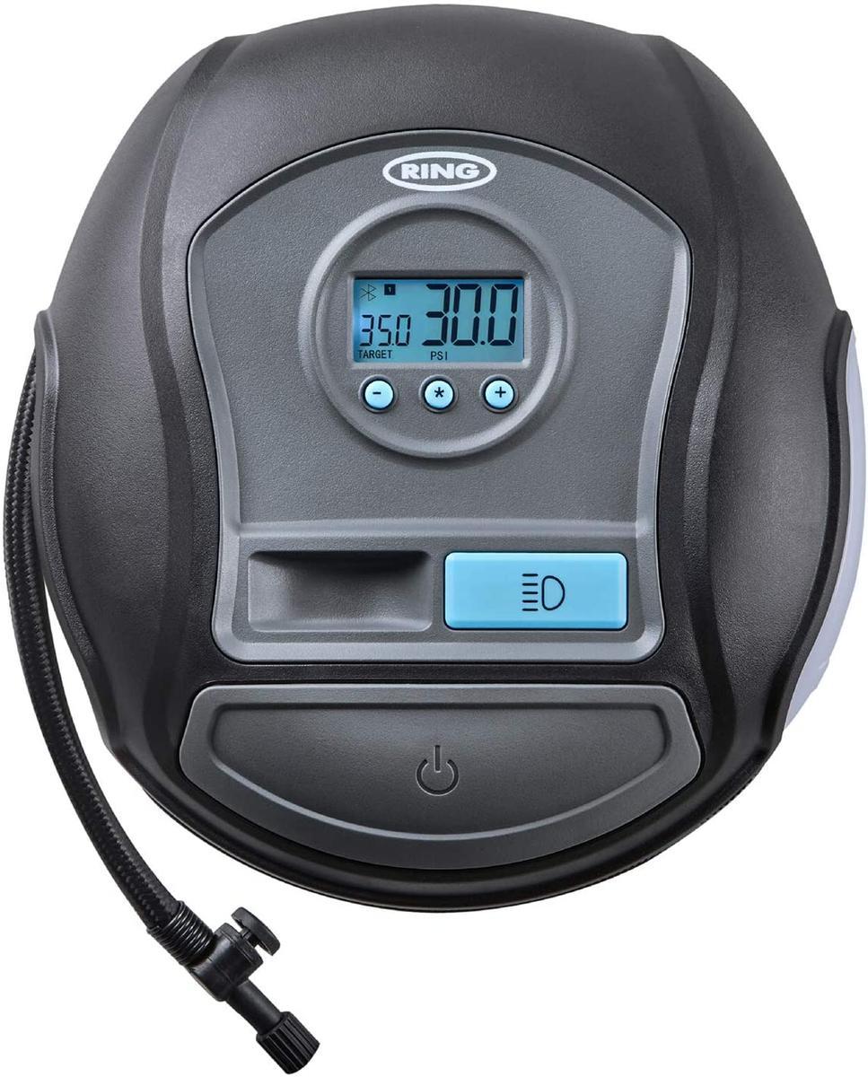Ring RTC650BT 12v Bluetooth Smart Car Tyre Air Compressor Inflator App Control