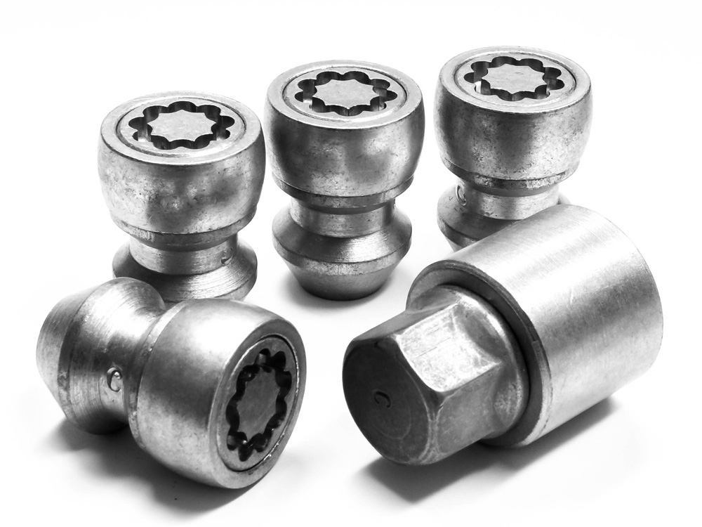 Evo5 070/5 High Security Alloy Wheel Locking Wheel Nuts Fits Isuzu D-Max 2012-