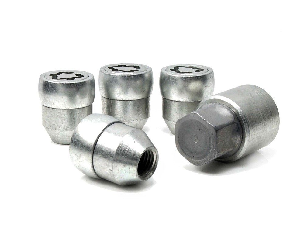 Evo5 171/5 High Security Alloy Wheel Locking Wheel Nuts Fits Proton Impian 2003-