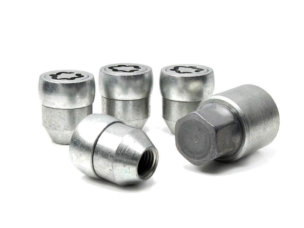 Evo5 171/5 High Security Alloy Wheel Locking Wheel Nuts Fits Proton Satria Neo 2006-