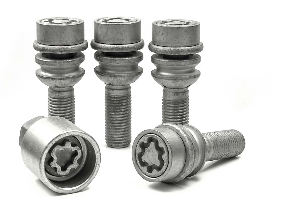 Evo5 299/5 High Security Alloy Wheel Locking Wheel Bolts Fits Porsche Macan 2014-