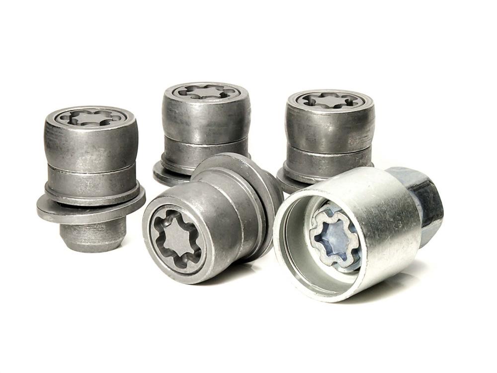 Evo5 382/5 High Security Alloy Wheel Locking Wheel Nuts Fits Toyota Verso 2010-