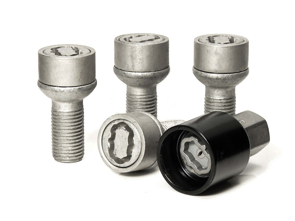 Evo5 385/5 High Security Alloy Wheel Locking Wheel Bolts Fits Mercedes Benz C Sports Coupe (CLC203) 2008-2011