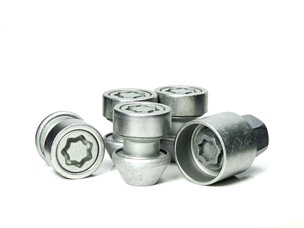 Evo5 770/5 High Security Alloy Wheel Locking Wheel Nuts Fits Volvo S40 2005-