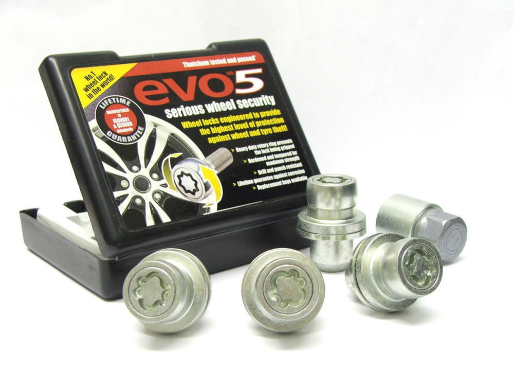 Evo5 863/5-RR High Security Alloy Wheel Locking Wheel Nuts Fits Land Rover Range Rover L405+ 2012-