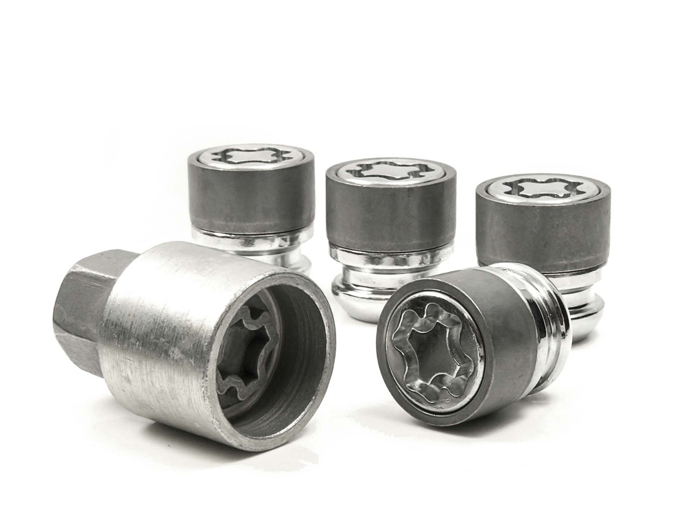 Evo5 369/5 High Security Alloy Wheel Locking Wheel Nuts Fits MG MG ZR 1998-2005