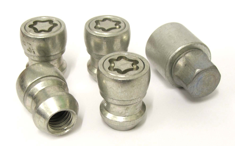 Evo5 492/5 High Security Alloy Wheel Locking Wheel Nuts Fits Ford Transit 2003-2014 (with 60°alloys M14 x 2.0)
