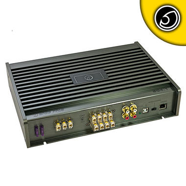 Bassface SQ4.1 2000w PC Control Class A/B 4/3/2 Channel DSP Car Amplifier SQ Amp Thumbnail 1