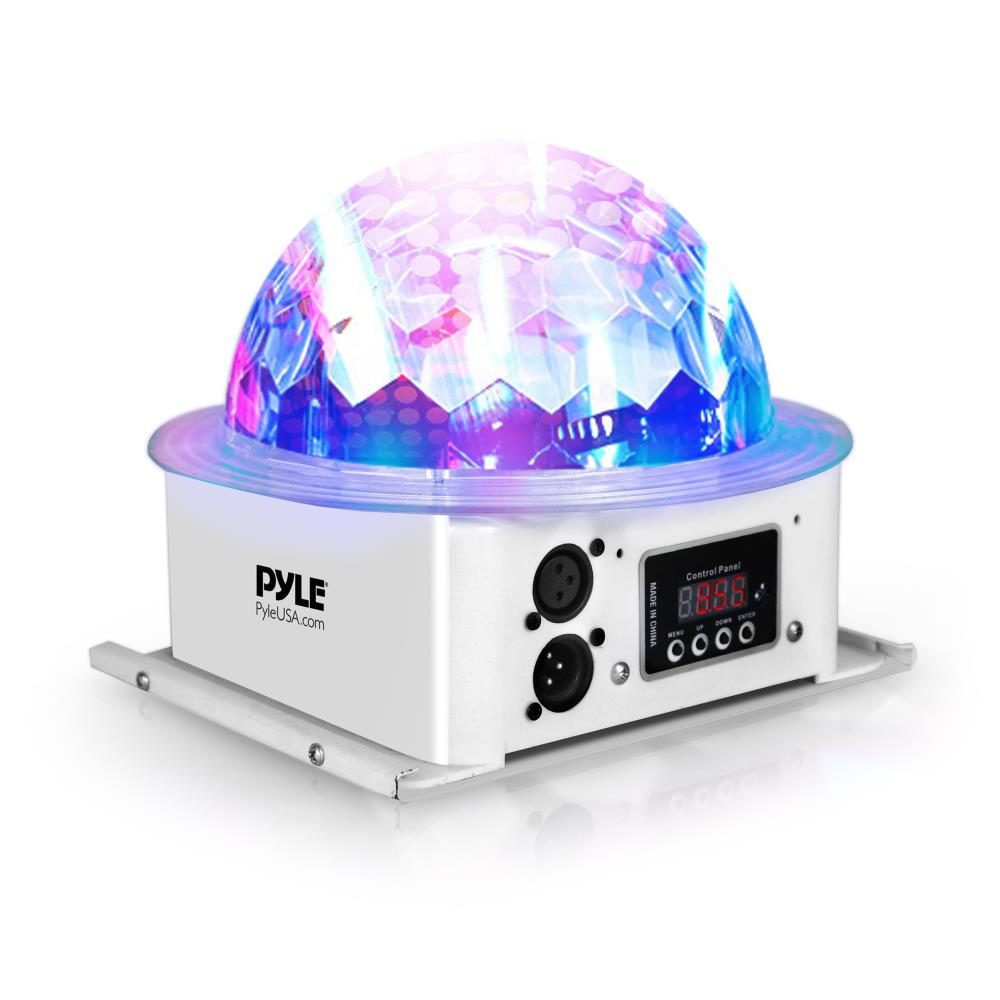 Pyle PDJLT10 Multicolor LED DJ Stage Light Sound Studio Single