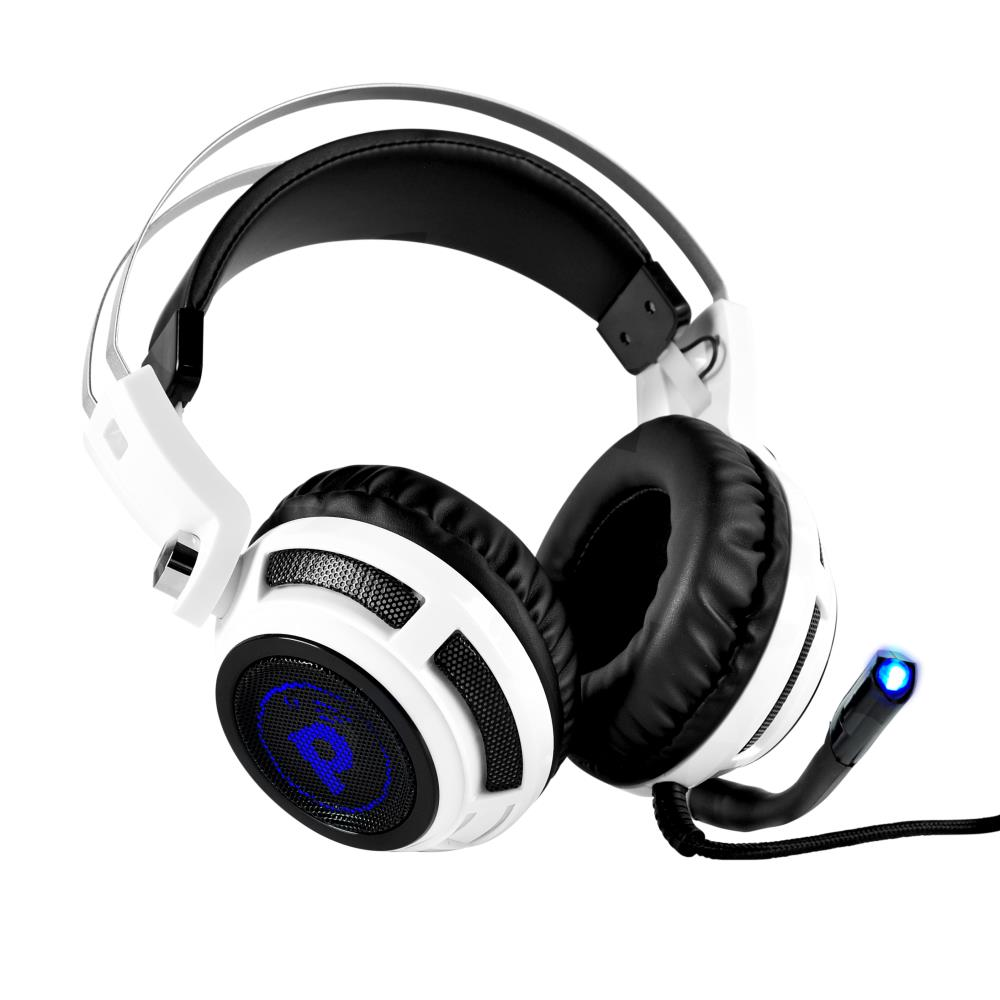 Pyle PGPHONE80 Professional PC PS4 Gaming Headset USB with Mic Single