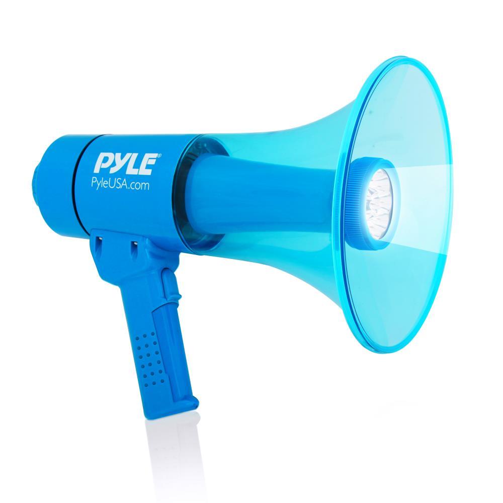 Pyle PMP67WLTB 40 Watt Water Resistant Indoor Outdoor PA Megaphone Single