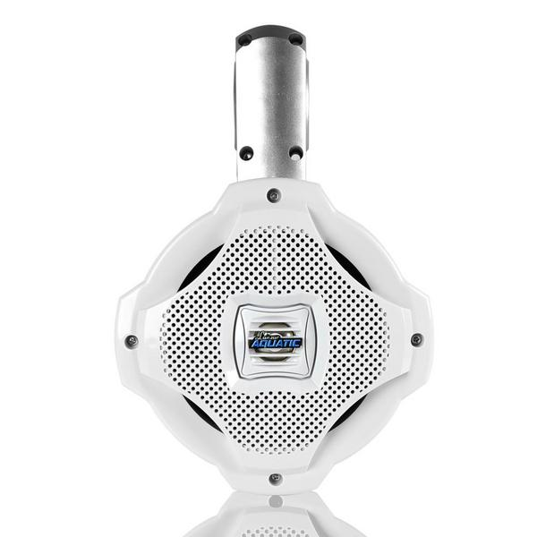 Lanzar AQAWBS64WT 6.5'' Bluetooth Wakeboard Marine Outdoor Speaker Single Thumbnail 2
