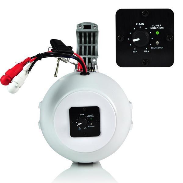 Lanzar AQAWBS64WT 6.5'' Bluetooth Wakeboard Marine Outdoor Speaker Single Thumbnail 3
