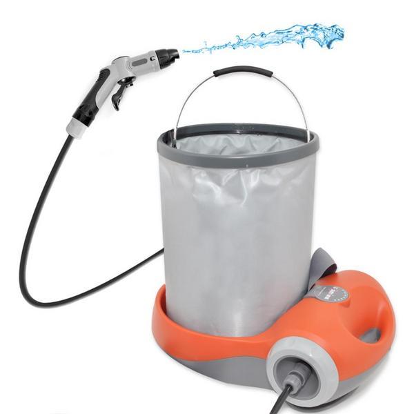 PyleHome PCRWASH18 Pure Clean Travel Outdoor Portable Car Wash Spray Single Thumbnail 1