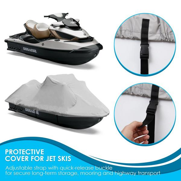 Pyle PCVJS12 Universal Armor Shield Marine Jetski Storage Cover Single Thumbnail 3