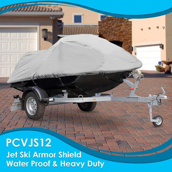Pyle PCVJS12 Universal Armor Shield Marine Jetski Storage Cover Single Thumbnail 4