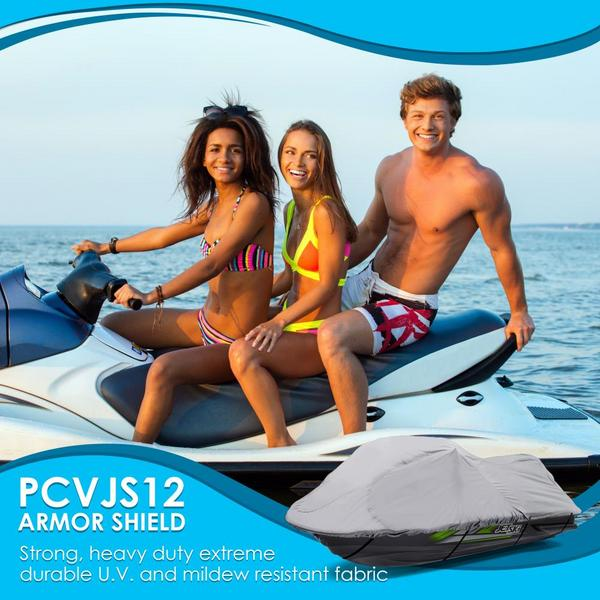 Pyle PCVJS12 Universal Armor Shield Marine Jetski Storage Cover Single Thumbnail 5