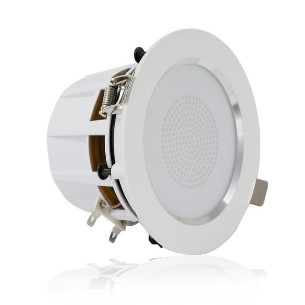 "Pyle PDIC35 3.5"" Inch 2-Way 140 Watts Aluminum Ceiling In Wall Speakers Single Thumbnail 2"