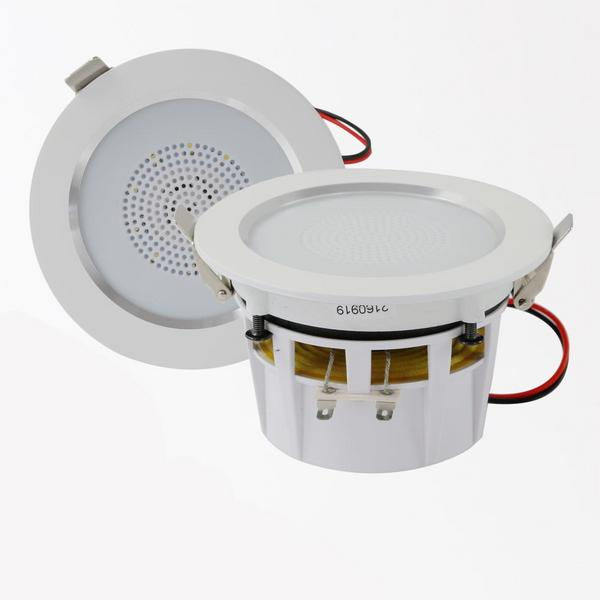 "Pyle PDIC35 3.5"" Inch 2-Way 140 Watts Aluminum Ceiling In Wall Speakers Single Thumbnail 3"