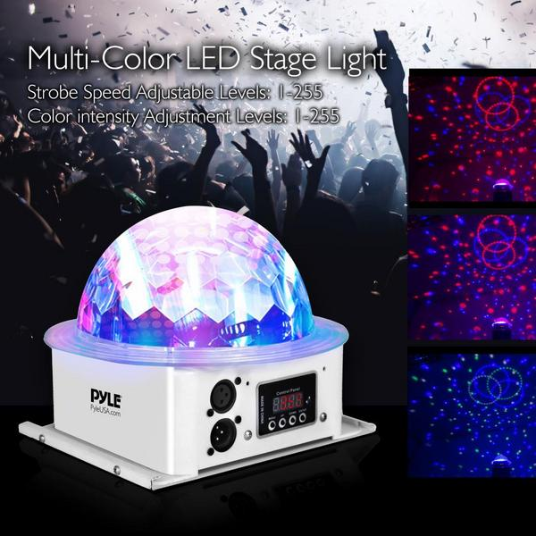 Pyle PDJLT10 Multicolor LED DJ Stage Light Sound Studio Single Thumbnail 2