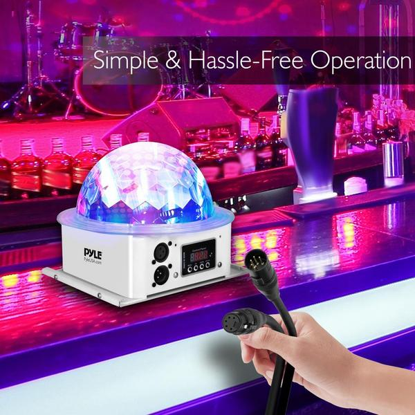 Pyle PDJLT10 Multicolor LED DJ Stage Light Sound Studio Single Thumbnail 3