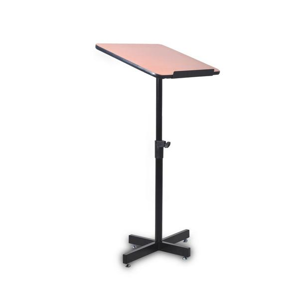Pyle PLCTND44 Compact Portable Adjustable Floor Standing Lectern Podium Single