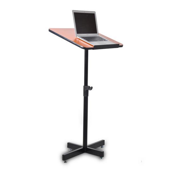 Pyle PLCTND44 Compact Portable Adjustable Floor Standing Lectern Podium Single Thumbnail 2
