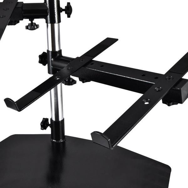 PylePro PLPTS45 Laptop Mixer Studio Equipment Stand Holder Single Thumbnail 4