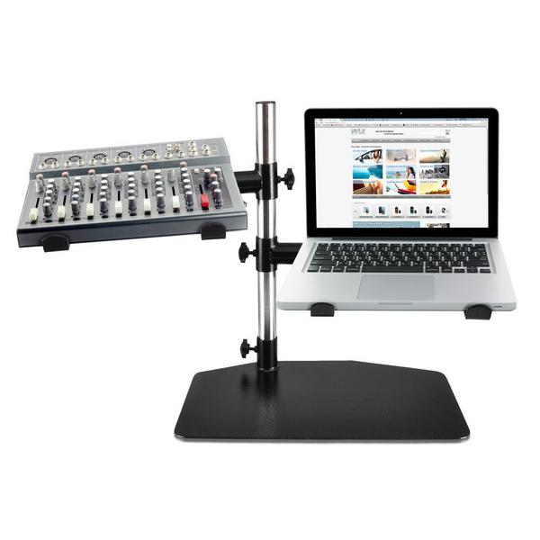 PylePro PLPTS45 Laptop Mixer Studio Equipment Stand Holder Single Thumbnail 2