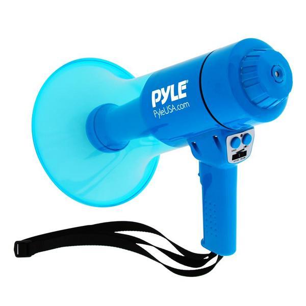 Pyle PMP67WLTB 40 Watt Water Resistant Indoor Outdoor PA Megaphone Single Thumbnail 2