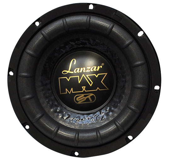 """Lanzar USA Max Mid Bass Driver 8"""" 4 Ohm 600w In Car Audio Subwoofer Sub Woofer"""