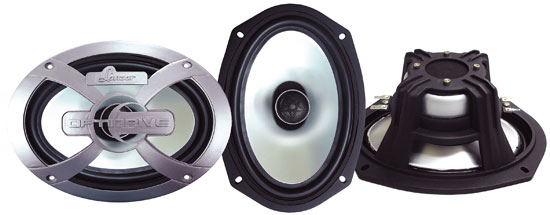 "Lanzar OPTI 6x9"" Inch Competition 1000w Car Door Two Way Shelf Speakers Pair"