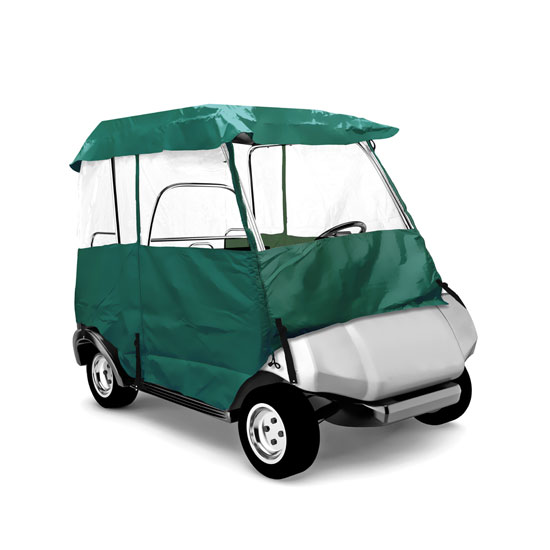 PYLE PCVGCE36 DELUXE 4-SIDE GOLF CART ENCLOSURE, 2 PAS