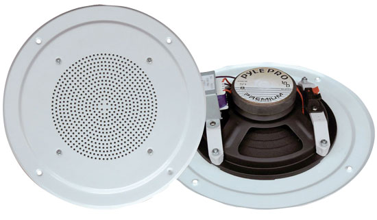 Pyle-Home PDICS54 5'' Full Range In Ceiling Speaker System W/Transformer