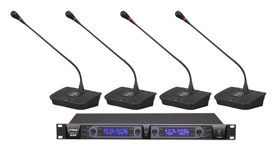 Pyle-Pro PDWM4700 Uhf Selectable Frequency Wireless Microp
