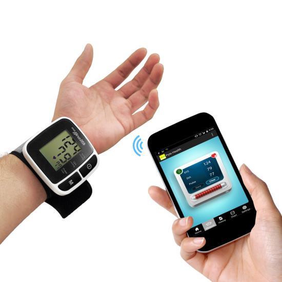 Pyle PHBPBW40BK Bluetooth Smart Blood Pressure Monitor Black