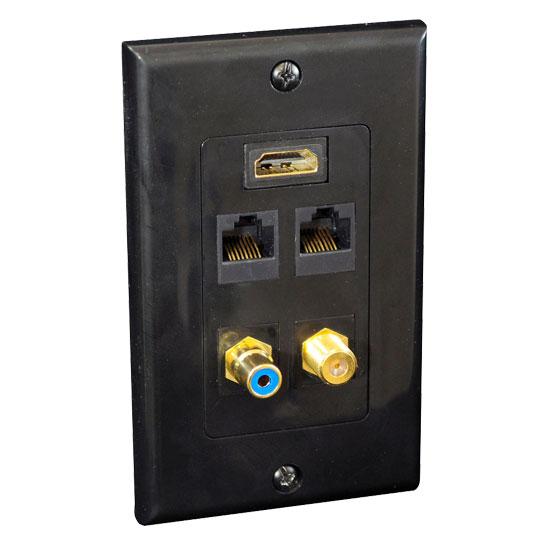 Pyle-Home PHDM2RB2 HDMI/Mono RCA Audio/Coaxial/ Dual Ethernet