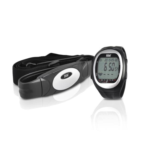 Pyle PHRM56 Heart Rate Watch Monitor 3D Walking Running Training Cardio Sensor