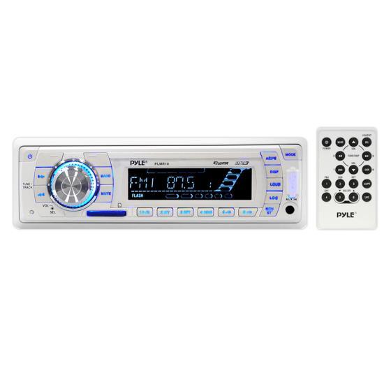 Pyle PLMR18 AM/FM-MPX PLL Tuning Radio w/SD/MMC & USB