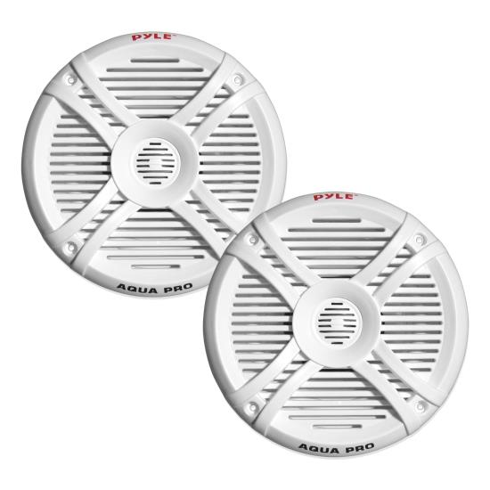 "Pyle WaterProof Outdoor Boat Patio Marine 6.5"" Inch In Wall Cabin Speakers"