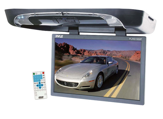 "Pyle PLRD195IF Roofmount Dvd Player With 19"" Monitor"