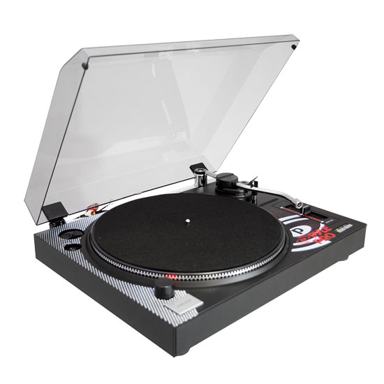 Pyle Pro Belt Drive Vinyl Turntable With Adjustable Pitch Cartridge And Stylus