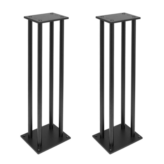 Pyle PSTND14 Pair of Heavy Duty Steel Support Bookshelf Monitor Speaker Stands