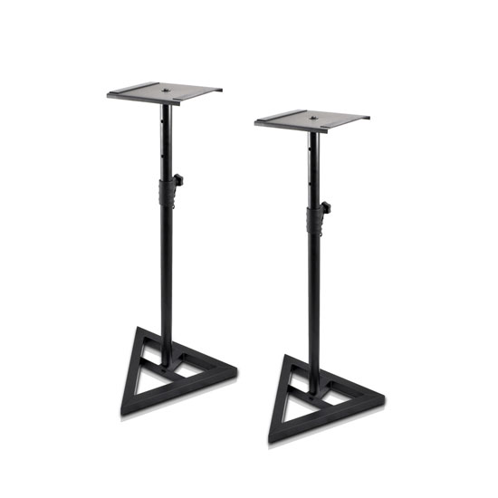 Pyle PSTND35 Heavy Duty Telescoping Speaker Stands with Height Adjustment, Set of 2