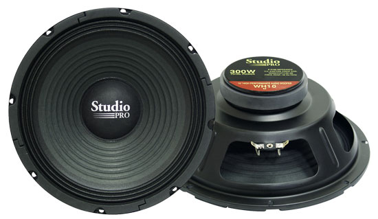 "Pyramid WH10 10"" 300w High Power Paper Cone 8 Ohm DJ Home Audio PA Subwoofer"