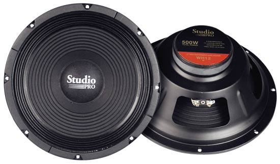 """Pyramid WH12 12"""" 500w High Power Paper Cone 8 Ohm DJ Home Audio PA Subwoofer"""