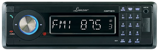 Lanzar Marine Boat Bluetooth Non CD MP3 Player Stereo Radio IPOD USB SD Card