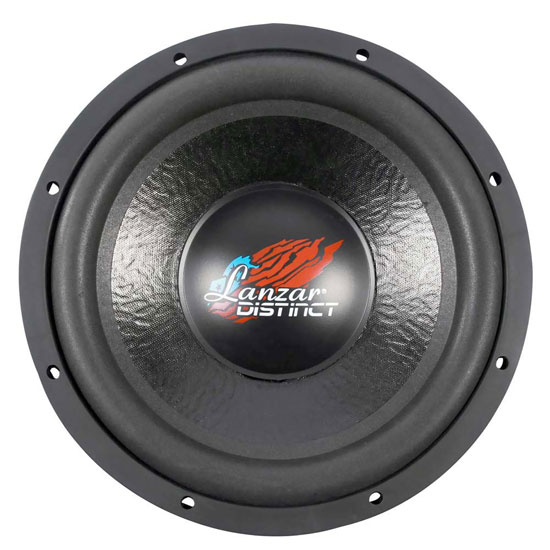 "Lanzar Distinct DVC 4 Ohm 12"" 1600w Compact Car Subwoofer Sub Woofer Bass Driver"