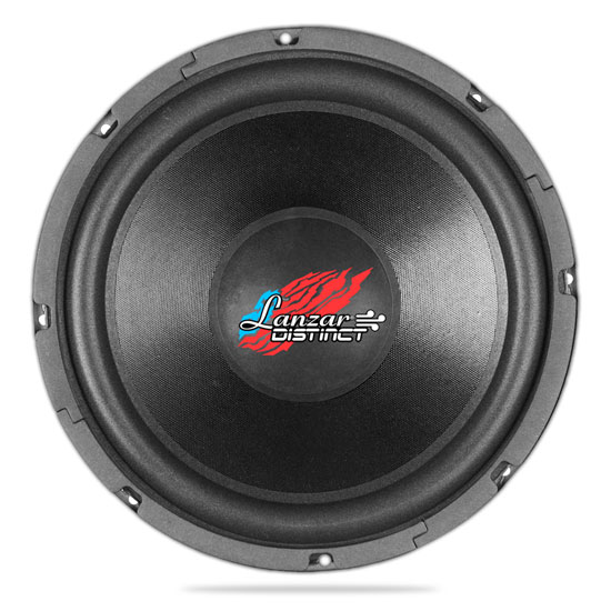 Lanzar DCTOA184 Distinct Open Air SVC Distinct Series 18-Inch High Power IB Open Free-Air 4 Ohm Subwoofer SVC