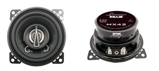 """Lanzar 4"""" 10cm 100mm 240w Pair Of Car Door Shelf Two Way Coaxial Speakers NEW"""